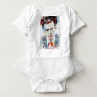 ALDOUS HUXLEY - watercolor portrait .4 Baby Bodysuit