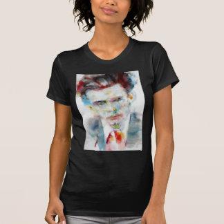 ALDOUS HUXLEY - watercolor portrait .4 T-Shirt
