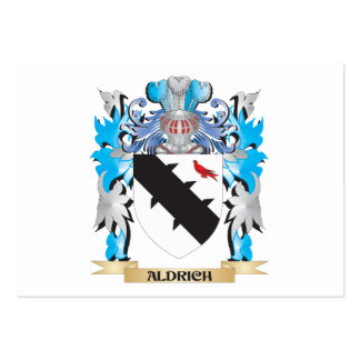 Aldrich Coat Of Arms Business Card Templates