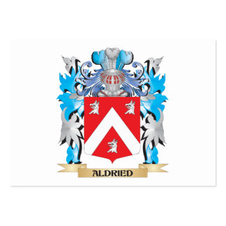 Aldried Coat Of Arms Business Card