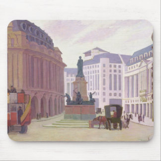 Aldwych (oil on canvas) mouse pad
