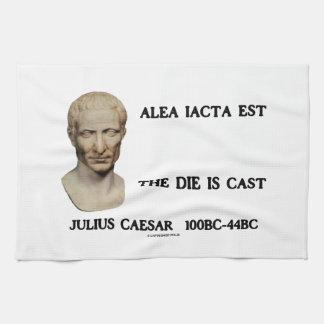 Alea Iacta Est The Die Is Cast Caesar Kitchen Towels