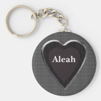 Aleah Stole My Heart Keychain by 369MyName