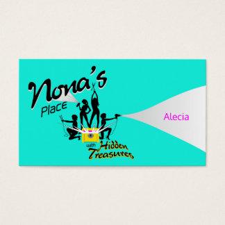 Alecia - Nona's Place w/Hidden Treasures Business Card