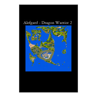 Alefgard - Dragon Warrior 2 Poster