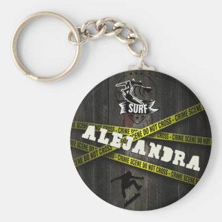 ALEJANDRA - Skater Style Keychain