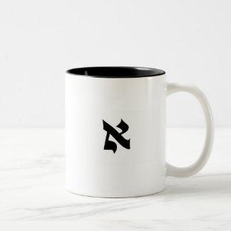 Aleph Two-Tone Coffee Mug