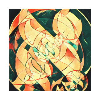 Aleph World Canvas Print