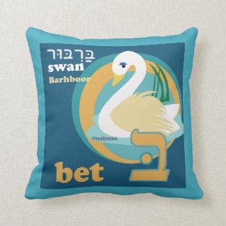 Alephbet Pillows-Bet Throw Pillow