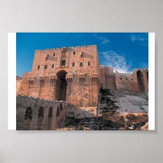 Aleppo Citadel Poster