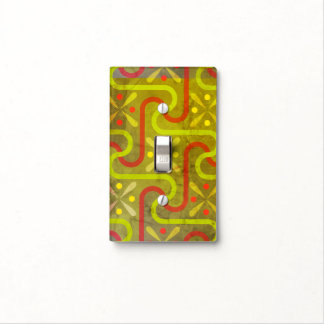 Aleppo Lime Green and Aqua Light Switch Cover