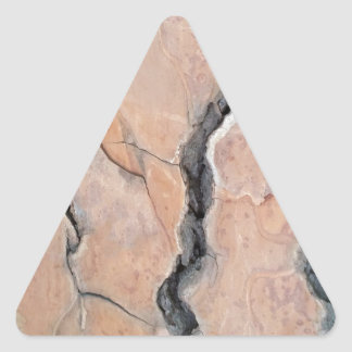 Aleppo pine triangle sticker