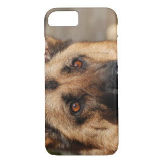Alert German Shepherd iPhone 7 Case