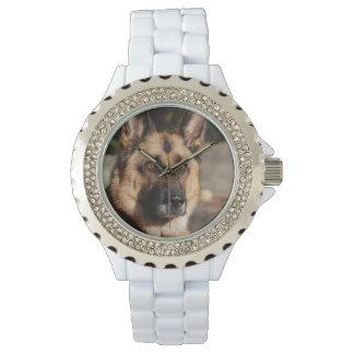 Alert German Shepherd Wrist Watch