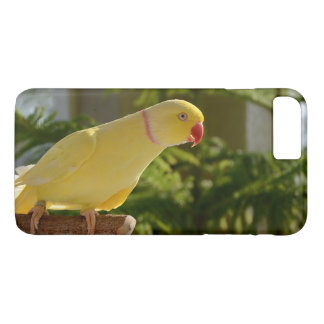 Alert Lutino Indian Ringneck iPhone 7 Plus Case