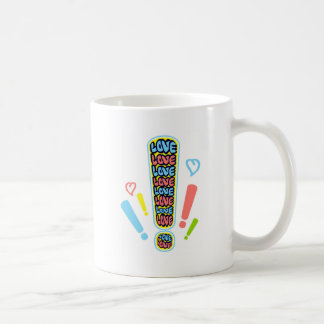 Alert of love coffee mug