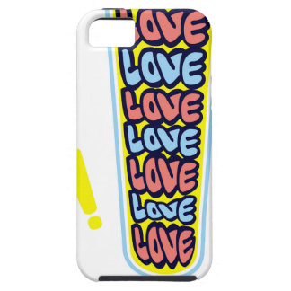 Alert of love iPhone 5 cover