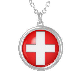 Alerte médicale - rouge collier