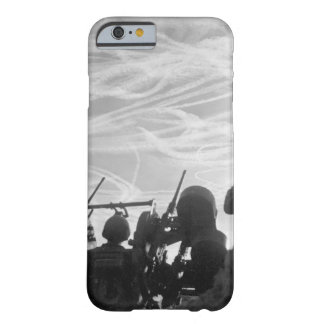 Alerted GIs of M-51 Anti-aircraft_War Image Barely There iPhone 6 Case