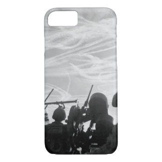 Alerted GIs of M-51 Anti-aircraft_War Image iPhone 7 Case