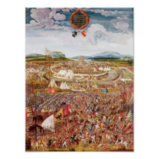 Alesia Besieged by Julius Caesar Poster