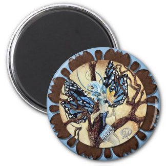 Alesia Faery 2 Inch Round Magnet