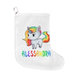 Alessandra Unicorn Christmas Stocking