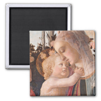 Alessandro Botticelli's The Virgin and Child Magnet