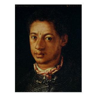 Alessandro de Medici by Agnolo Bronzino. Postcard