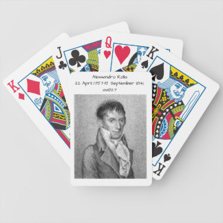 Alessandro Rolla before 1827 Bicycle Playing Cards