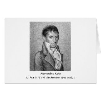Alessandro Rolla before 1827 Card