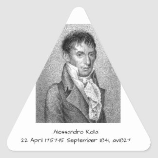 Alessandro Rolla before 1827 Triangle Sticker