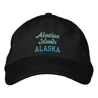 ALEUTIAN ISLANDS cap Embroidered Baseball Caps