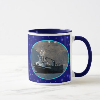 Aleutian Spray, Crab Boat in Dutch Harbor, Alaska Mug