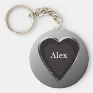 Alex Heart Keychain