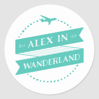 Alex in Wanderland Stickers