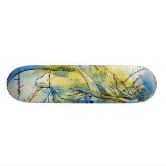 "Alex Pardee ""Riding Revenge"" Custom Skateboard"