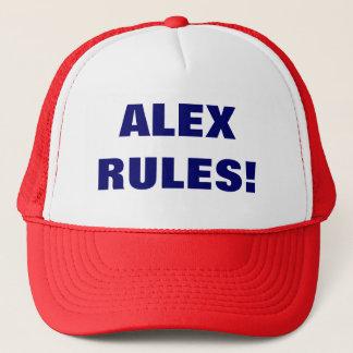 ALEX RULES! TRUCKER HAT