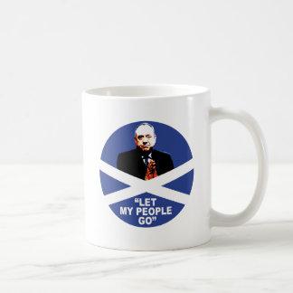"Alex Salmond, ""Let my people go"" Classic White Coffee Mug"