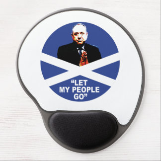 "Alex Salmond, ""Let my people go"" Gel Mouse Pad"