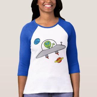 Alex the Alien - Ladies 3/4 Sleeve T-Shirt