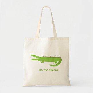 Alex the Alligator Tote Bag
