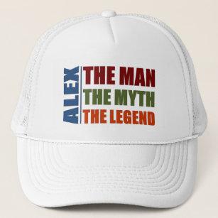 The Man Martin Funny Retro Trucker Cap Snapback The Myth The Legend