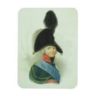 Alexander (1777-1825) the Great Emperor of all the Rectangular Photo Magnet