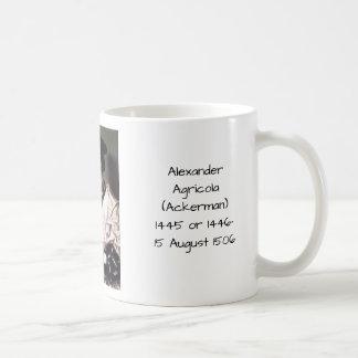Alexander Agricola (Ackerman) Coffee Mug