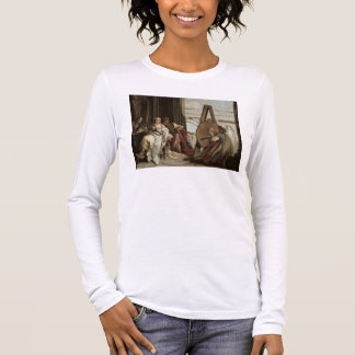 Alexander and Campaspe at the house of the painter Long Sleeve T-Shirt