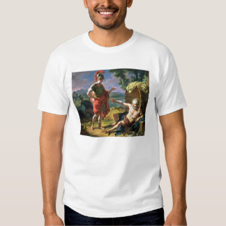 Alexander and Diogenes, 1818 (oil on canvas) Shirts