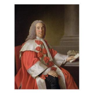 Alexander Boswell (1706-82) Lord Auchinleck, c.175 Postcard