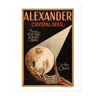 "Alexander, Crystal ""Cradle to the Grave"" Magic Postcard"