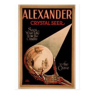 Alexander Crystal Seer Postcard